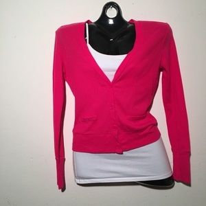 Jackets & Blazers - Casual hot pink jacket